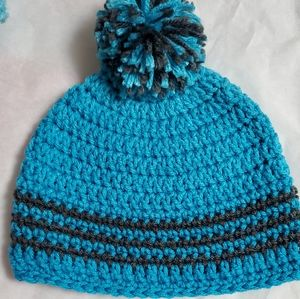 Other - Brand New Crocheted 3-6 month old hat